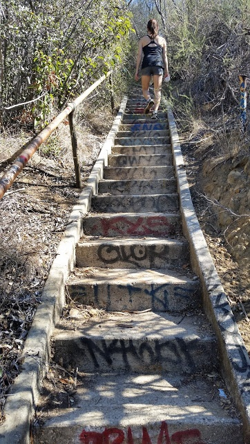 murphy ranch stairs 2